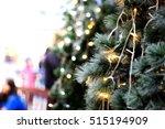 Close Up Artificial Christmas...