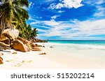 amazing tropical beach | Shutterstock . vector #515202214