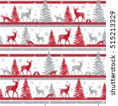 abstract seamless christmas... | Shutterstock .eps vector #515213329
