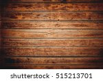 the brown old wood texture with ... | Shutterstock . vector #515213701