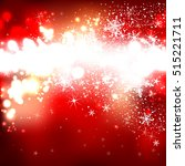 red shiny background with... | Shutterstock .eps vector #515221711