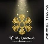 beautiful gold glitter... | Shutterstock .eps vector #515222929