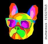 french bulldog. print on...   Shutterstock .eps vector #515227015