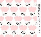 seamless pattern with clouds...   Shutterstock .eps vector #515228104