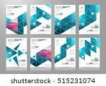brochure template  flyer design ... | Shutterstock .eps vector #515231074