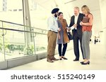 business people together... | Shutterstock . vector #515240149