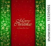 Golden Christmas Decorative...