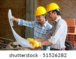 architects at a construction... | Shutterstock . vector #51526282