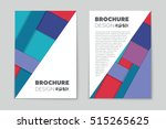 abstract vector layout... | Shutterstock .eps vector #515265625