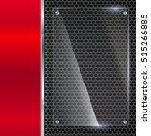 elegant vector metallic... | Shutterstock .eps vector #515266885