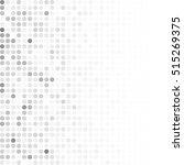 gray white random dots... | Shutterstock .eps vector #515269375