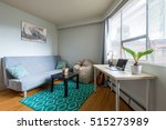 cozy studio student apartment... | Shutterstock . vector #515273989