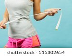 weight loss  slim body  healthy ... | Shutterstock . vector #515302654