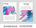 abstract vector layout... | Shutterstock .eps vector #515319349