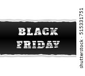 black friday sale banner with... | Shutterstock .eps vector #515331751