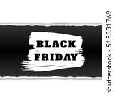 black friday sale banner with... | Shutterstock .eps vector #515331769