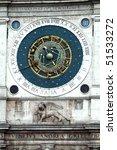 zodiac clock on piazza san...