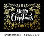 chic and luxury christmas... | Shutterstock .eps vector #515333179