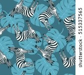 Zebra Pattern   Vector...