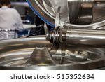 industrial mixer in food... | Shutterstock . vector #515352634