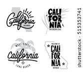 california related t shirt...   Shutterstock .eps vector #515353741
