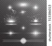 light background. snowflake... | Shutterstock .eps vector #515386015