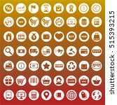 collection of icons | Shutterstock .eps vector #515393215