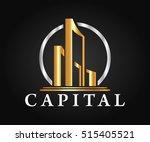 real estate  building ... | Shutterstock .eps vector #515405521