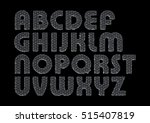 Letters Of The Alphabet In The...