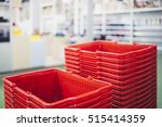 shopping basket blur interior... | Shutterstock . vector #515414359