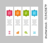 infographic design template can ... | Shutterstock .eps vector #515425879
