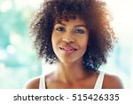 young beautiful afro american... | Shutterstock . vector #515426335