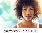close up portrait of beautiful... | Shutterstock . vector #515426341