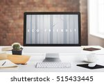 nature ecology go green concept   Shutterstock . vector #515433445