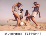 fun time with friends. group of ... | Shutterstock . vector #515440447