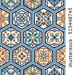 vector seamless texture.... | Shutterstock .eps vector #515448745