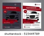 set a5  a4 rent a car business... | Shutterstock .eps vector #515449789