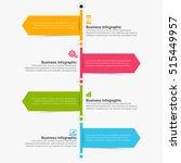 vector infographic. template... | Shutterstock .eps vector #515449957