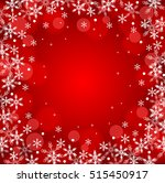 christmas snow background  | Shutterstock .eps vector #515450917