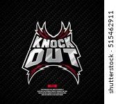 modern professional knockout... | Shutterstock .eps vector #515462911