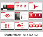 red abstract presentation...   Shutterstock .eps vector #515465761