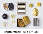christmas decorations ... | Shutterstock . vector #515474281