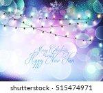 vector background for christmas ... | Shutterstock .eps vector #515474971