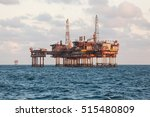 offshore oil   gas central...   Shutterstock . vector #515480809