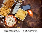 the concept of unhealthy... | Shutterstock . vector #515489191