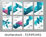 brochure template  flyer design ... | Shutterstock . vector #515491441