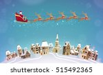christmas  vector illustration. ... | Shutterstock .eps vector #515492365