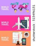 vector modern flat design web... | Shutterstock .eps vector #515496151