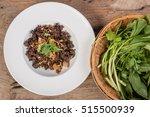 ground pork salad  thailand... | Shutterstock . vector #515500939
