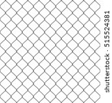silhouette of metal wire mesh ... | Shutterstock .eps vector #515524381